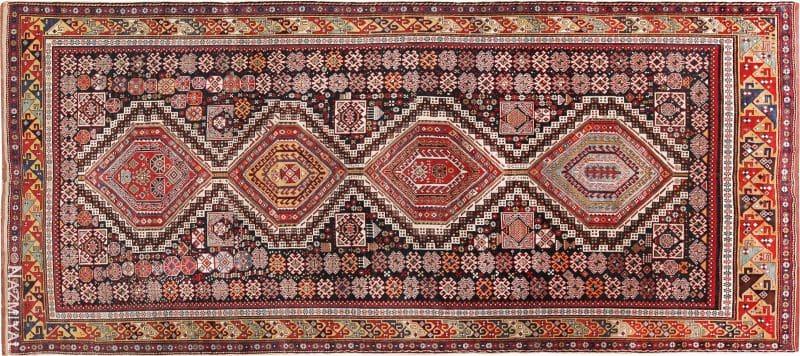 Antique Caucasian Shirvan Rug Nazmiyal