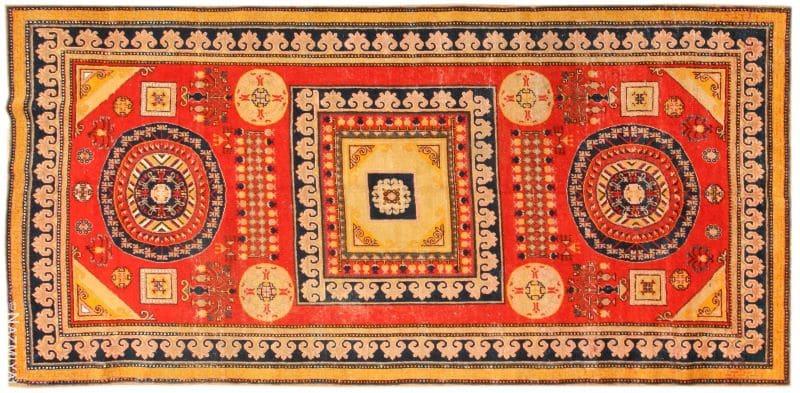 Antique Khotan Rug Nazmiyal