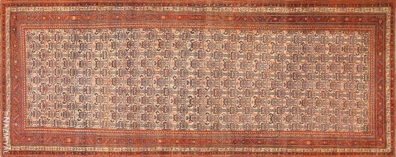 Antique Persian Farahan Rug Nazmiyal