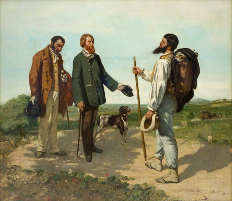 Gustave Courbet Bonjour Monsieur Courbet Nazmiyal