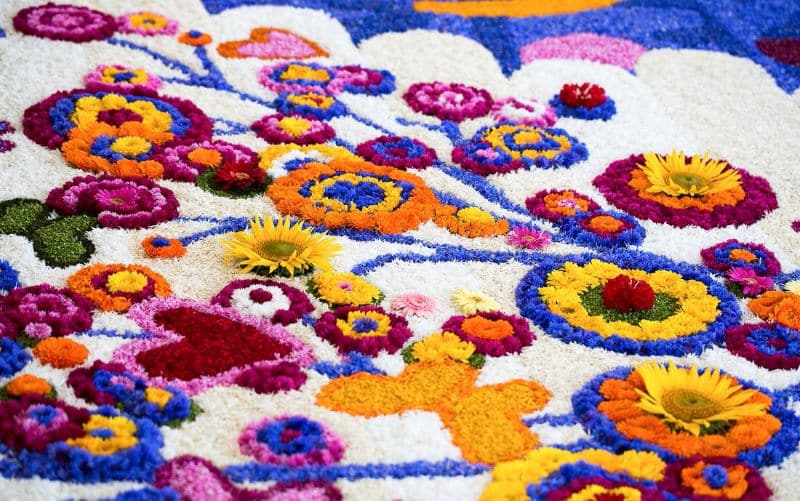 Infiorata Flower Carpet Nazmiyal