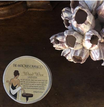 Antiques Diva Wood Wax