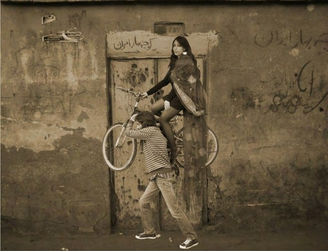Babak Kazemi the Exit of Shirin and Farhad Nazmiyal