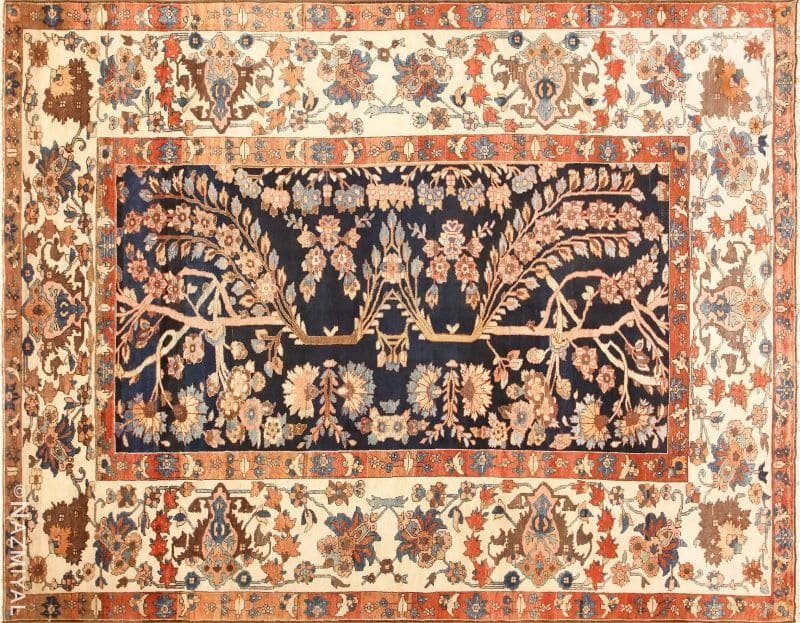Tribal Persian Malayer Rug | Nazmiyal