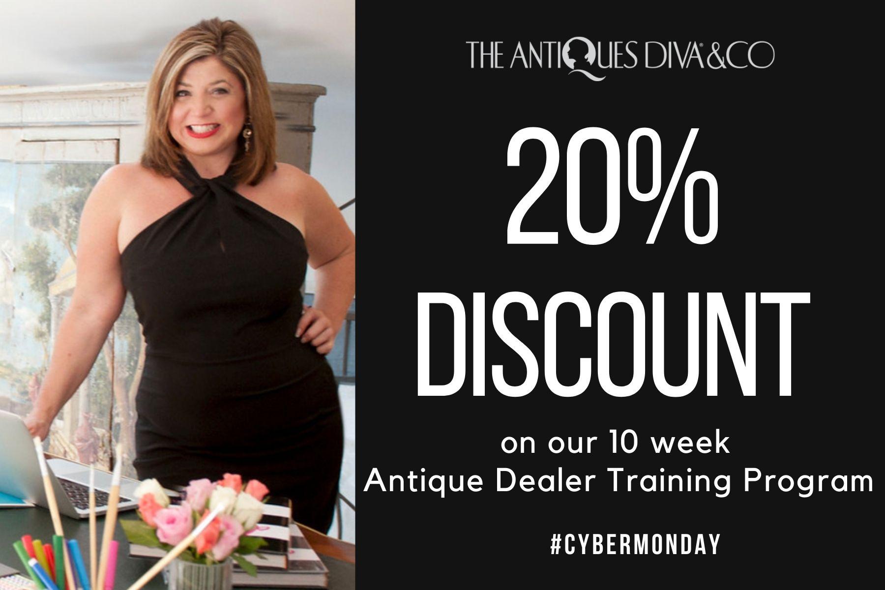 Antiques Diva Cyber Monday sale