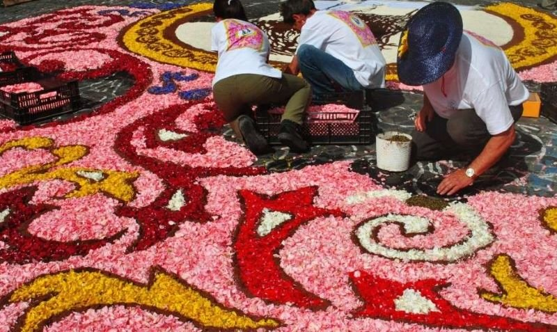 Infiorata Flower Carpet Artists