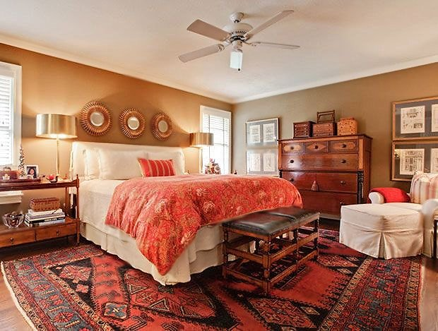 Bedroom Home Decorating With Rugs by nazmiyal