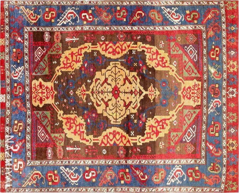 18th Century Turkish Rug from James Ballard Nazmiyal