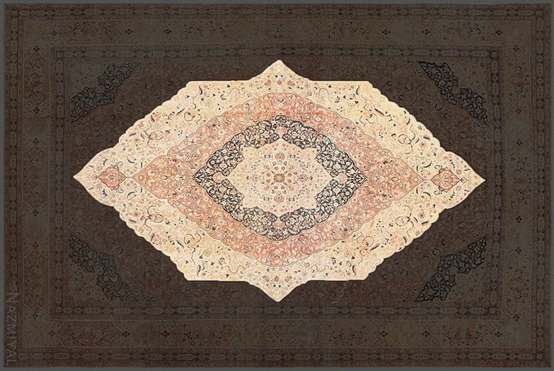 Central Medallion Of A Rug by Nazmiyal Antique Rugs in NYC