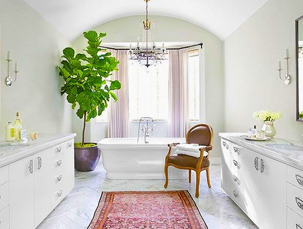 Kitchens and bathrooms interior decor with rugs by Namziyal