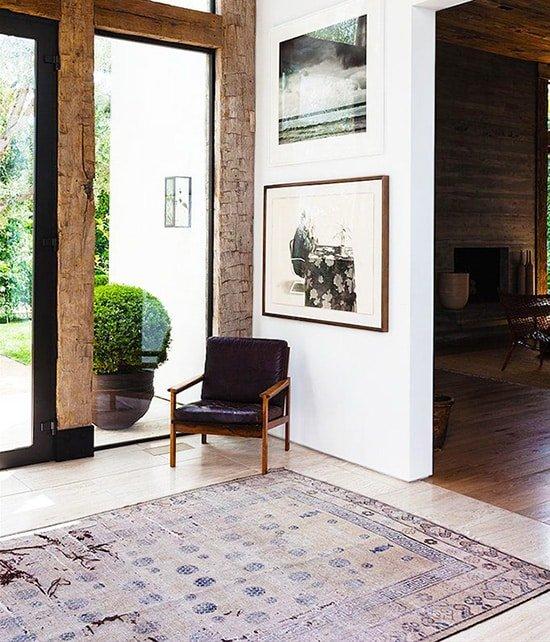 Minimalist Chinese Rug Interior Design - Nazmiyal