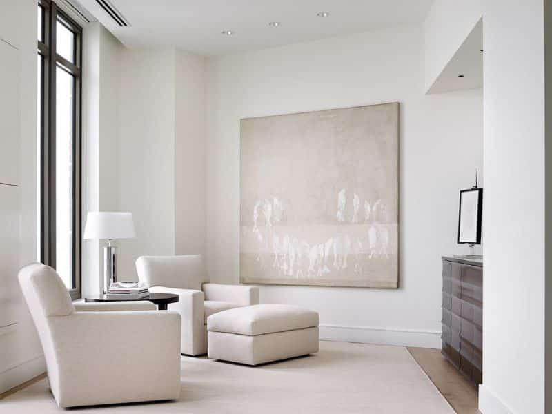 Minimalist Interior Sitting Room Nazmiyal