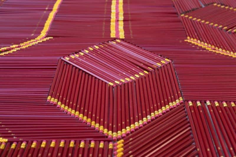 Pencil Carpet Details Nazmiyal