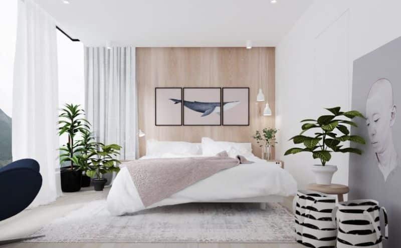 Minimalist Interior Bedroom Nazmiyal