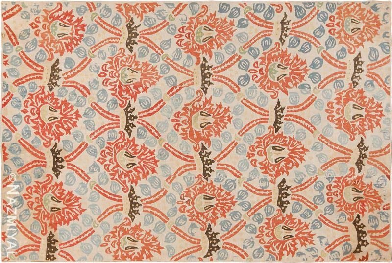 17th Century Antique Ottoman Embroidered Textile Nazmiyal