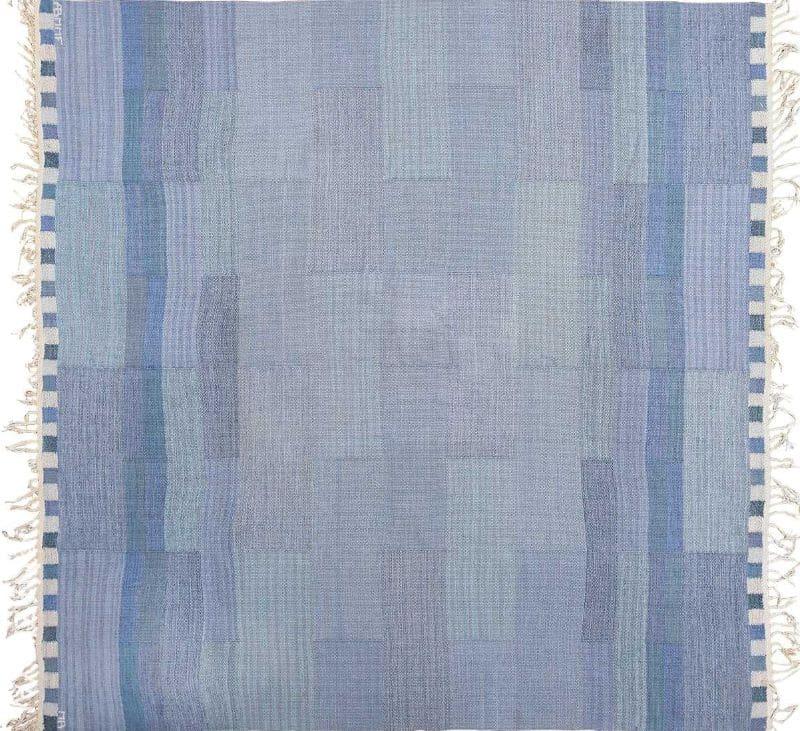 Square Vintage Marta Maas Swedish Kilim Rug by Marianne Richter Nazmiyal