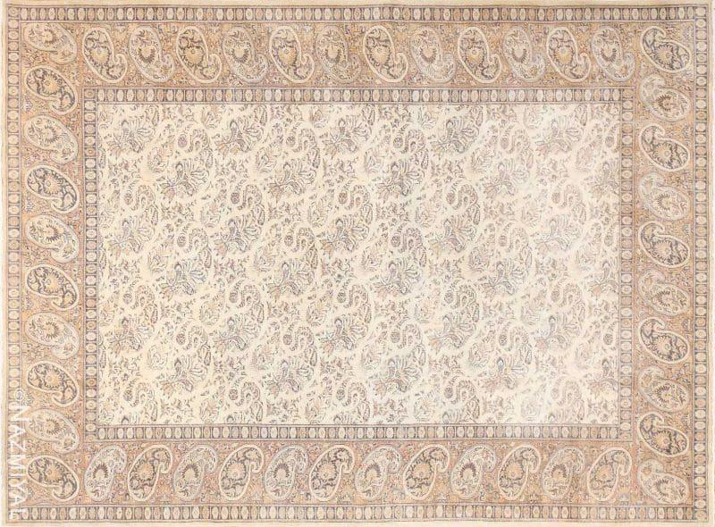 Paisley Design Antique Turkish Sivas Carpet Nazmiyal