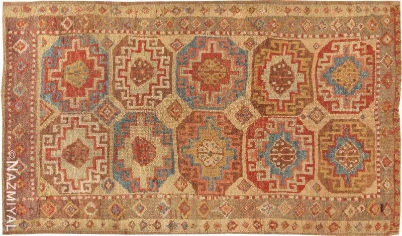 Antique Konya Turkish Rug Nazmiyal