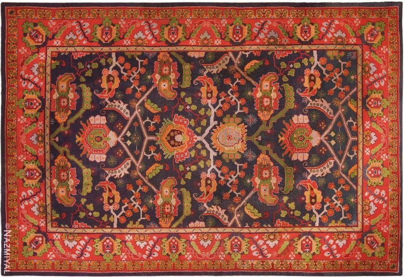 Large Antique Art and Craft Rug by Gavin Morton Nazmiyal