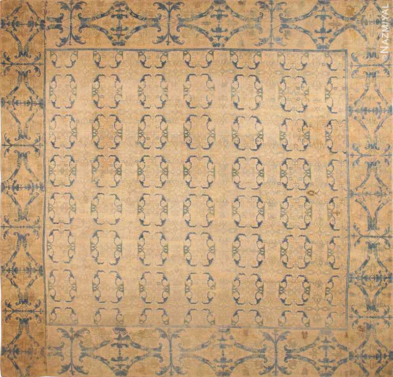 Large Antique 16th Century Alcaraz Rug Nazmiyal