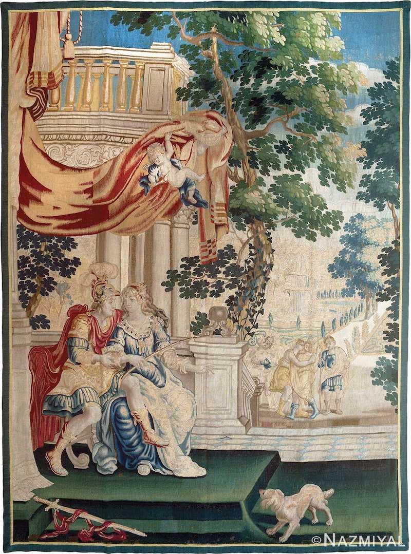 17th Century Flemish Tapestry Nazmiyal