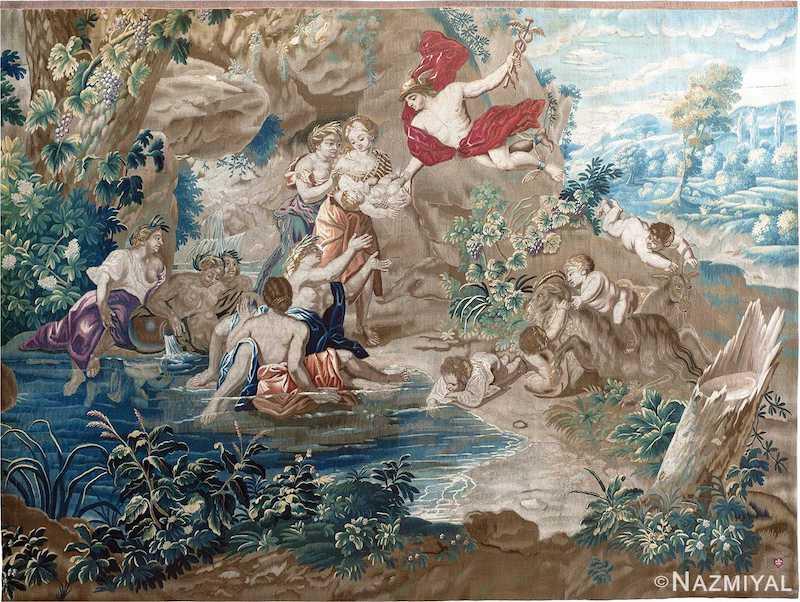Antique French 17th Century Tapestry Nazmiyal