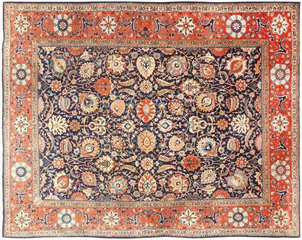 Antique Persian Tabriz, Nazmiyal Collection