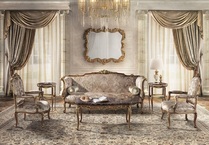 Baroque Interior Living Room Nazmiyal