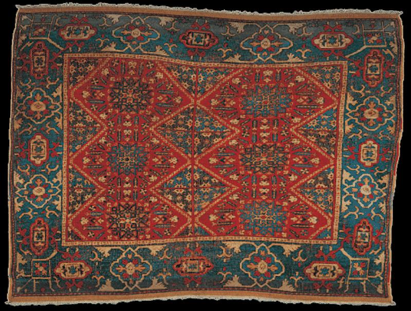 Damascus Rug Wool Nazmiyal