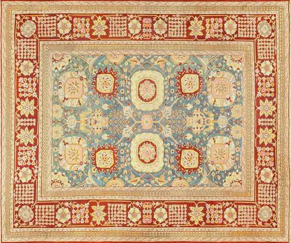 Antique Indian Amritsar Carpet, Nazmiyal