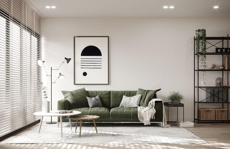 Scandinavian Interior Design Contrast