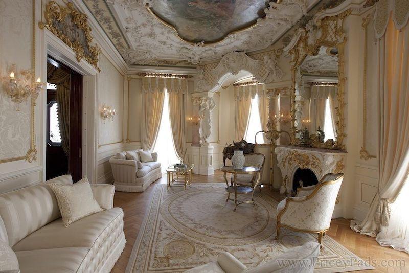 Modern Baroque Sitting Room Nazmiyal