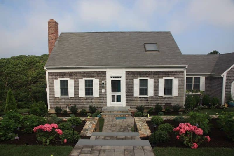 Cape Cod Home Weathered Grey Nazmiyal