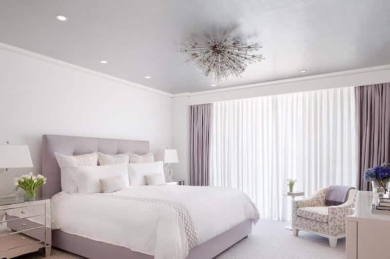 Lavender and Silver Interior Design Nazmiyal