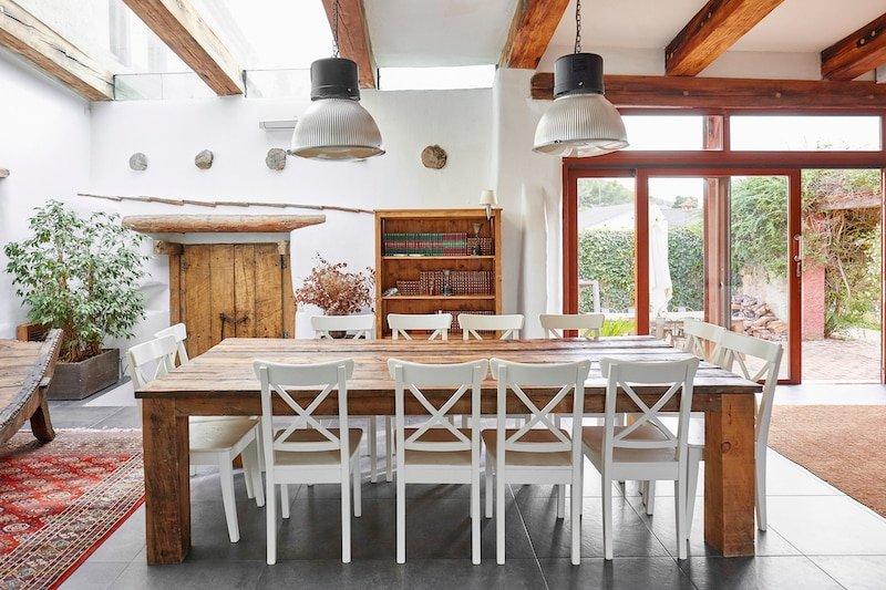 Farmhouse Interior Design Rustic Wood Nazmiyal