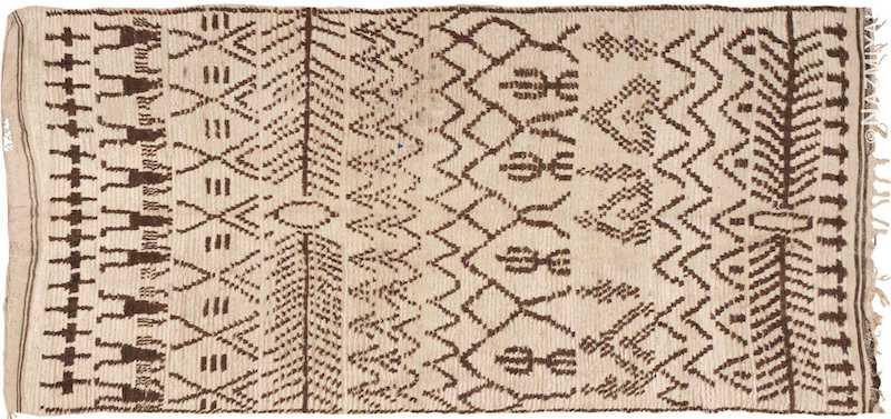 Vintage Moroccan Rug Nazmiyal