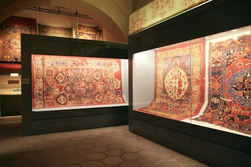 Carpets at Istanbul Carpet Museum Nazmiyal