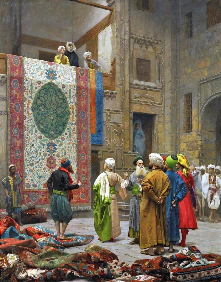 The Carpet Merchant Nazmiyal
